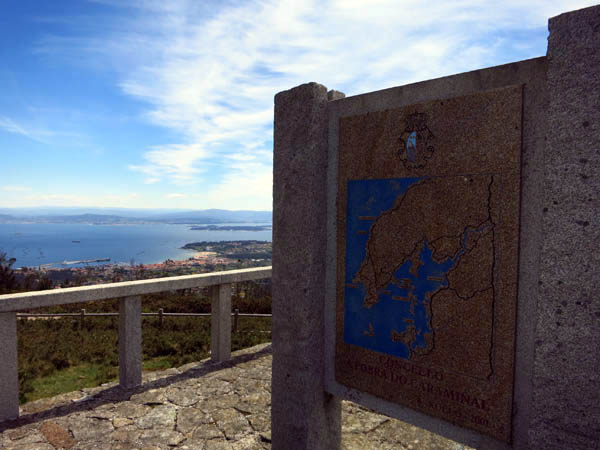 Miradoiro de Valle Inclán, na Curotiña